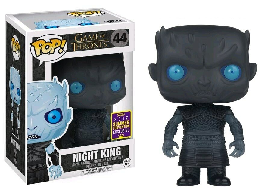 Game of Thrones - Night King Translucent Eyes SDCC 2017 US Exclusive Pop  Vinyl