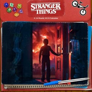 STRANGER THINGS - 2019 MINI WALL CALENDAR 7x7 - TV 891067