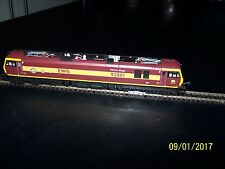 Hornby Class 92 Electric Locomotive - EWS Livery - DCC ready