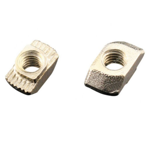 50Stk 20x20 M3//M5 EU Aluminium Profil Nutenstein T Slot Gleitmutter Block