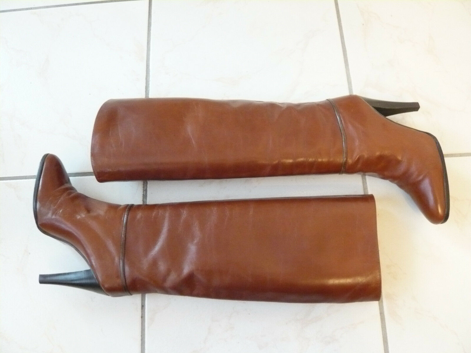 Bottes  vintage  1982 1982 1982   or   -  RENE MANCINI  ---  T. 38 be5a1b