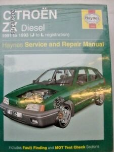 citroen zx workshop manual ebay rh ebay co uk citroen zx service manual download Citroen CX