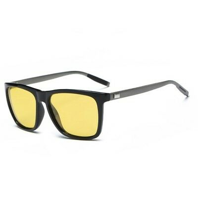 Men's Night Vision HD Sunglasses Polarized Anti Glare Lens Sport Driving Glasses