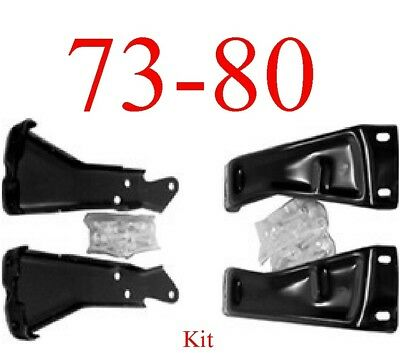 AM Left,Right Pair Bumper Bracket For Chevy,GMC C//K Pickup Suburban