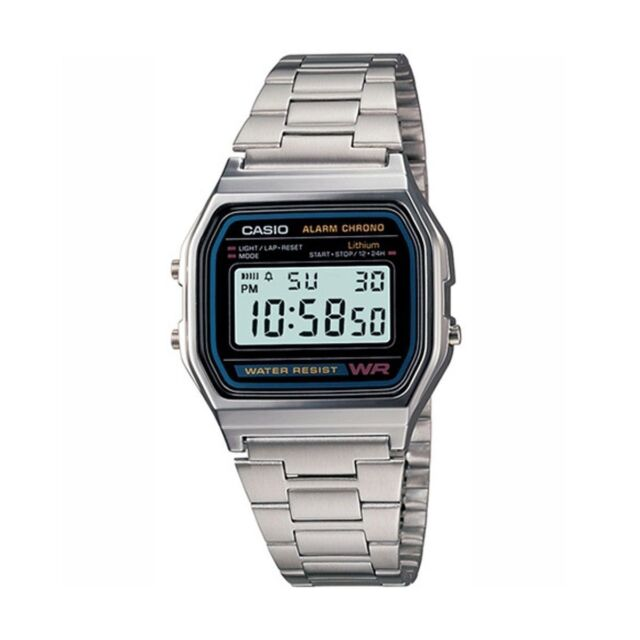 0006b86a0278 Casio A158WA-1 Wrist Watch for Men for sale online