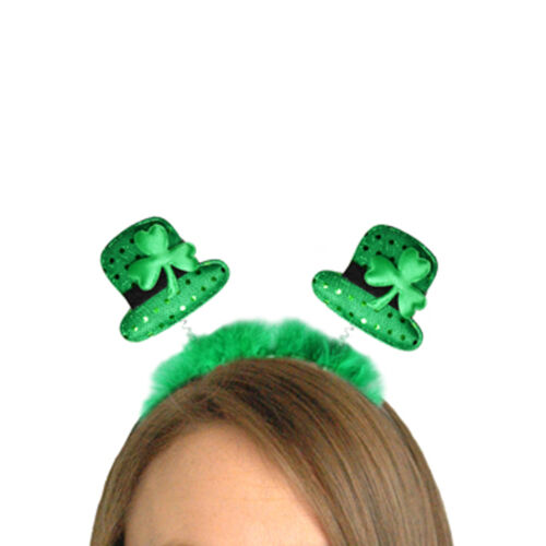 St Patricks Day Green Hat Head Bopper 00241 Party Dress Up