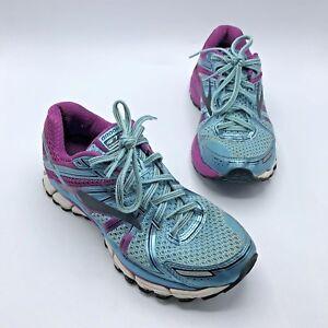 ad4aa13ab42 Brooks Adrenaline GTS 17 Women Blue Purple Running Shoe Size 9 Pre ...