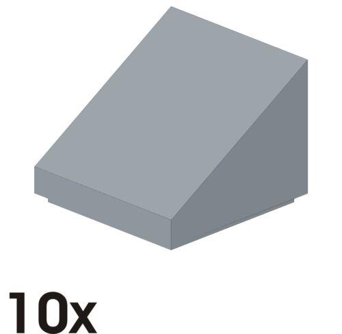449 NEUE Dachsteine 1x1x2//3  30° neu-hellgrau 50746//54200 10 St