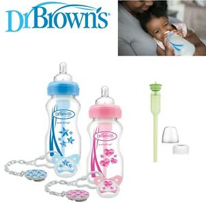 Dr-Brown-039-s-New-Improved-Baby-Options-Milk-Formula-270ml-Bottle-With-Soother-Pink