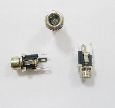 5PCS DC Power Jack Socket DC-053A 2.1 x 5.5mm with Screw Nut new good quality AG
