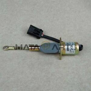NEW FUEL SHUT-OFF SOLENOID FITS NEW HOLLAND APPLICATIONS NH 87801213 87616313