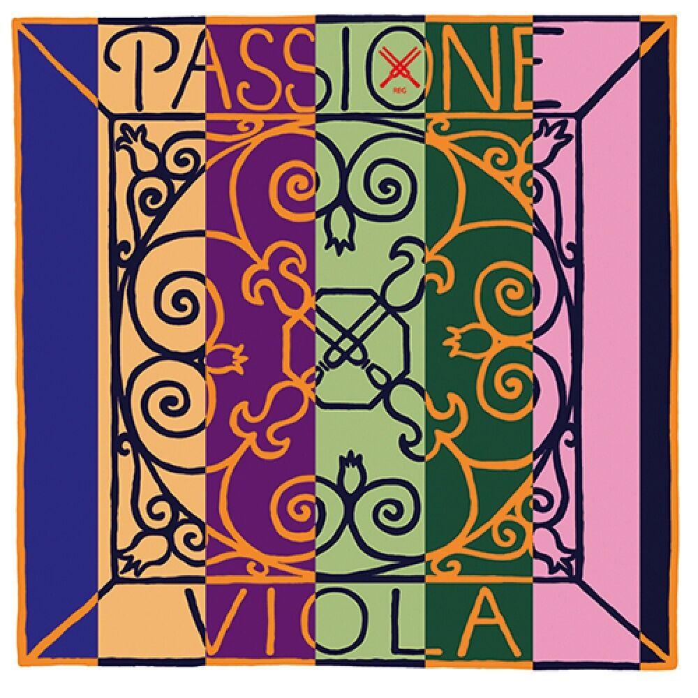 PIRASTRO Passione 4 4 purple Bratsche DARM Saiten SATZ, mittel, purple Strings Set