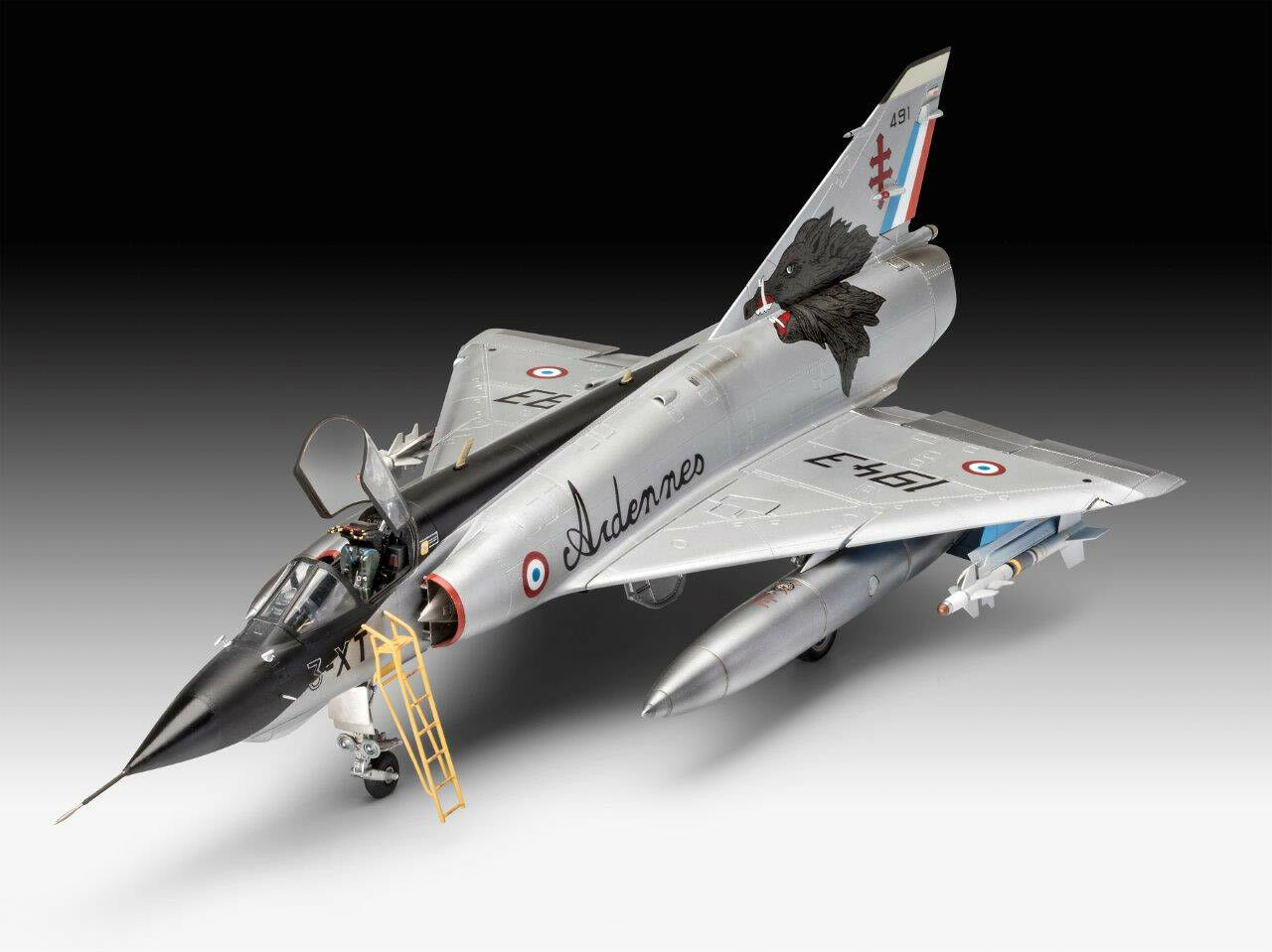 Revell 03919 Mirage lll E RD O Dassault Aviation Plastic Kit 1 32 Scale T48 Post