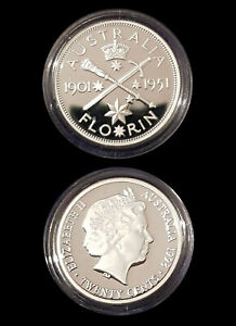 1901-51-99-9-Proof-Silver-FLORIN-from-1998-Masterpieces-Silver-Set-13-36g-20c