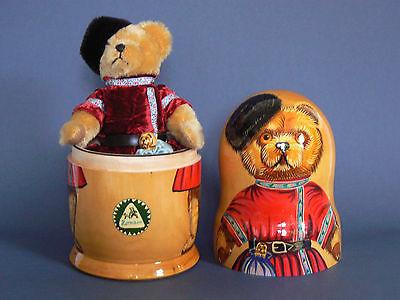 Hermann Matryoshka Matrioska Babuschka Orso Bear Teddy Stata Limitata 97/1000 Pezzi-mostra Il Titolo Originale Ufficiale 2019