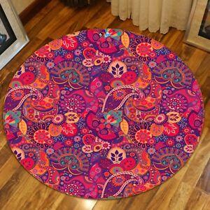 3D Red Rose Dews 023 Non Slip Rug Mat Room Mat Round Quality Elegant Carpet AU