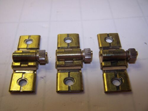3 SQUARE D B STYLE OVERLOAD HEATER ELEMENT SIZE B19.5 LOT OF 3