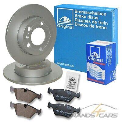 2 ATE Bremsscheiben Ø245mm Bremsbeläge hinten für Audi Avant A4 B5 1.6-2.8