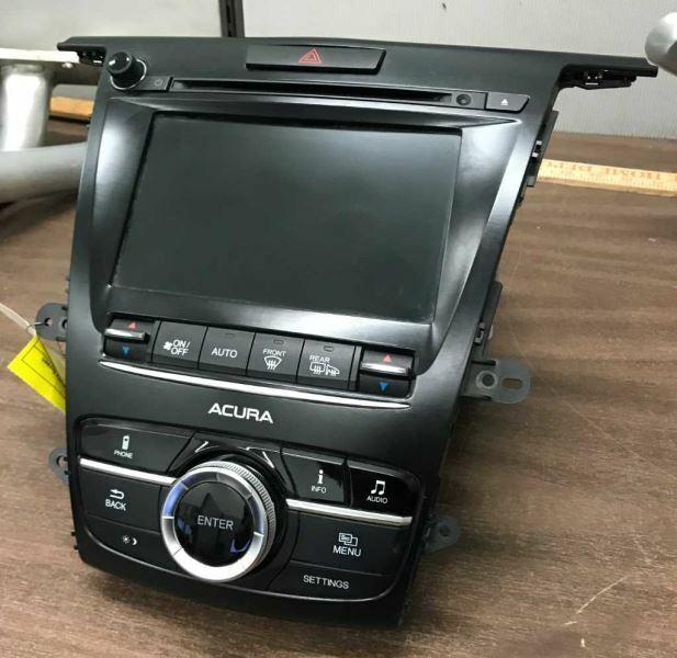2015-2017 Acura TLX Radio Receiver & Display Screen 39540