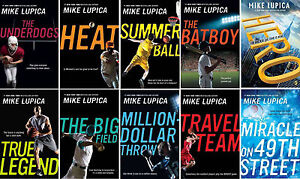 MIKE LUPICA Sports Titles 10 Book Collection! HEAT HERO & MORE ...