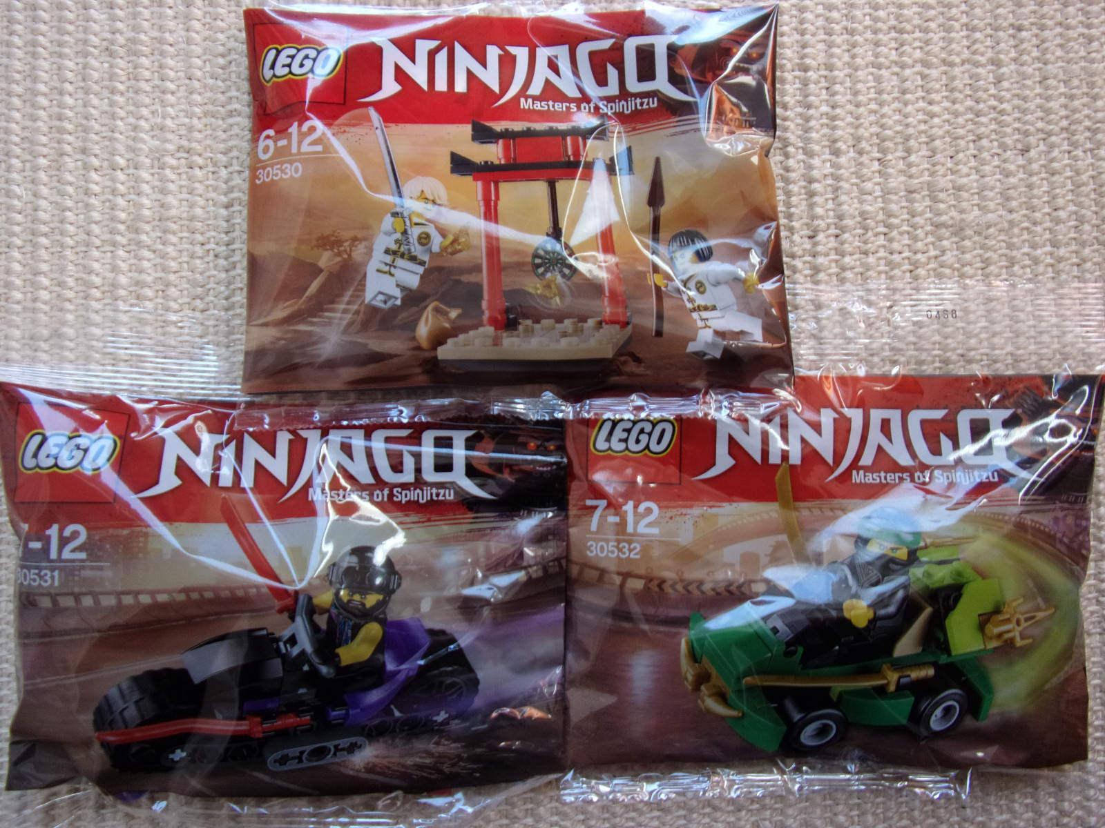 LEGO Ninjago Ninjago Ninjago - 3 Polybags (30530+30531+30532) - NIP 7c3cd4