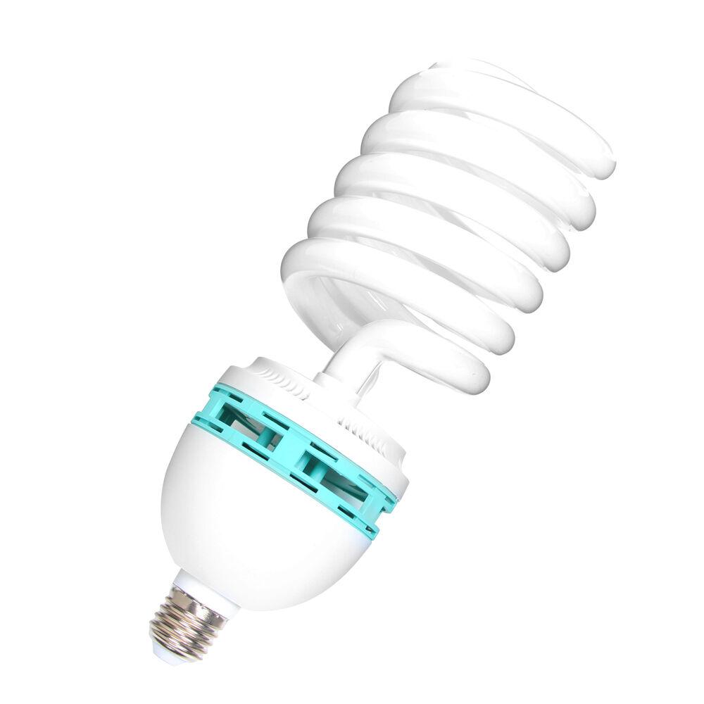 2 30 Watt Light Bulb 5400K Compact Fluorescent Photography Photo CFL Studio