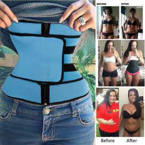 Fajas-Neoprene-Premium-Slim-Waist-Trimmer-Men-amp-Women-Body-Shaper-Tummy-Control