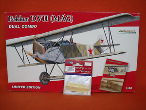 Eduard-1147-Dual-Combo-Fokker-D-VII-MAG-1x-AMLA-48032-Skis-1-48