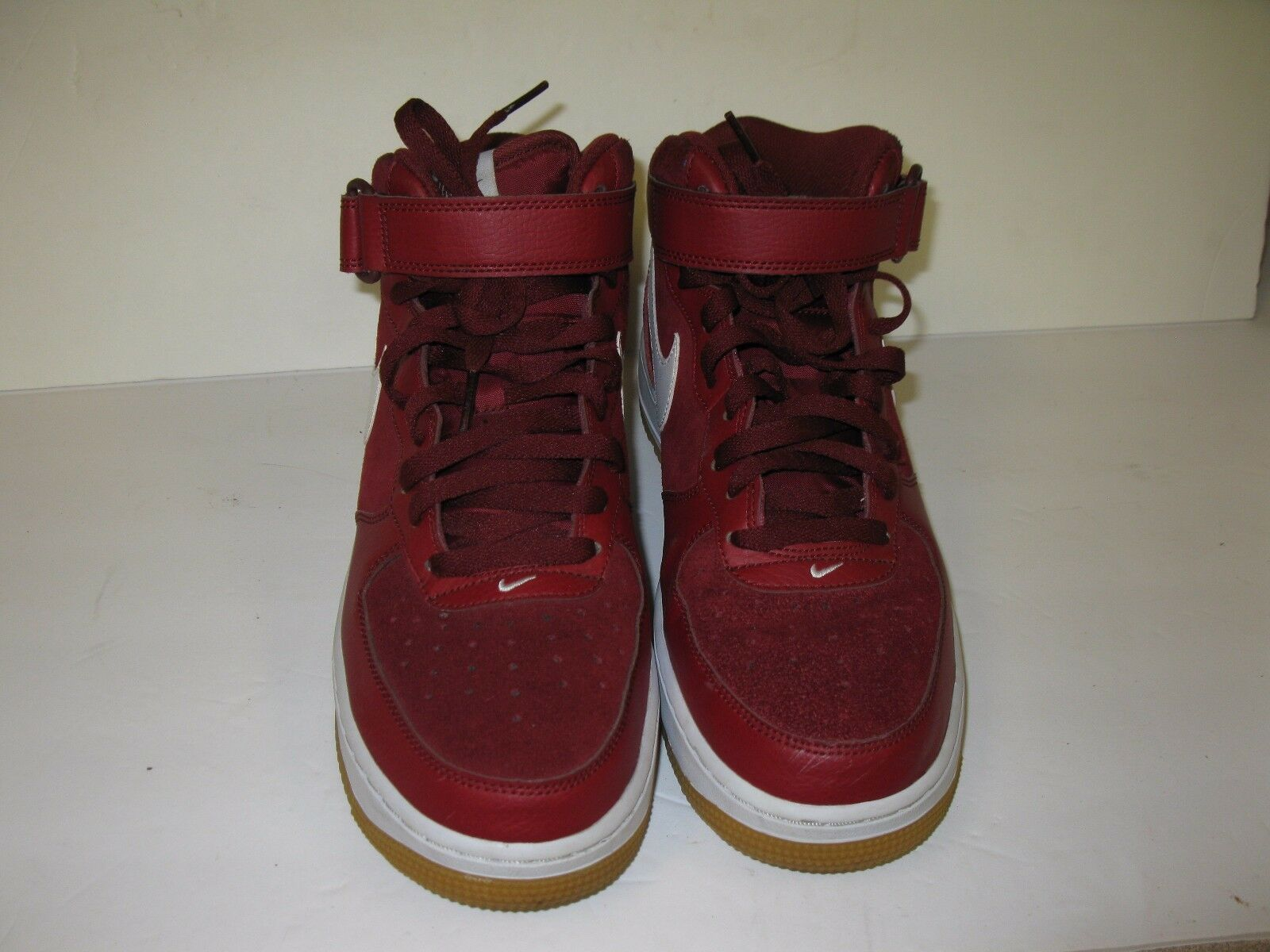 NIKE AIR FORCE 1 MID 07 MENS SNEAKERS 315123 608 WINE SIZE MENS 8.5