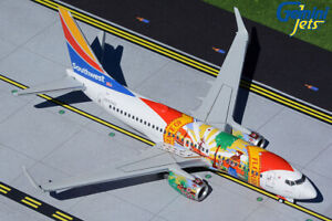 "GEMINI200 (G2SWA914) SOUTHWEST ""FLORIDA ONE"" 737-700 1:200 SCALE DIECAST MODEL"
