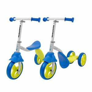 Swagtron K2 Kid 3 Wheel Transforming 2-in-1 Bike/Scooter for Boy Girl Toddler