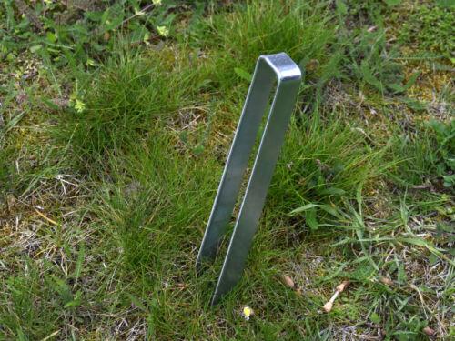 Bodenanker für Rosenbogen 30cm Heringe Erdnagel Erdanker Erdspieß Bauanker 319
