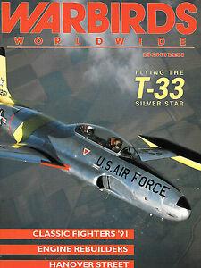 Details about Warbirds Worldwide 18 T-33 Silver Star P-51D Mustang B-25  Mitchell Swiss Vampire