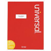 Universal Laser Printer Permanent Labels 1 X 2 5/8 White 7500/box 80120 on sale