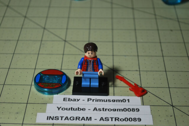 Back to the Future Marty McFly NEW LEGO Torso set 71201 21103
