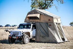 Image is loading Tepui-Autana-SKY-3-Person-Roof-Top-Tent- & Tepui Autana SKY 3 Person Roof Top Tent Tan 4-Season Overlander ...