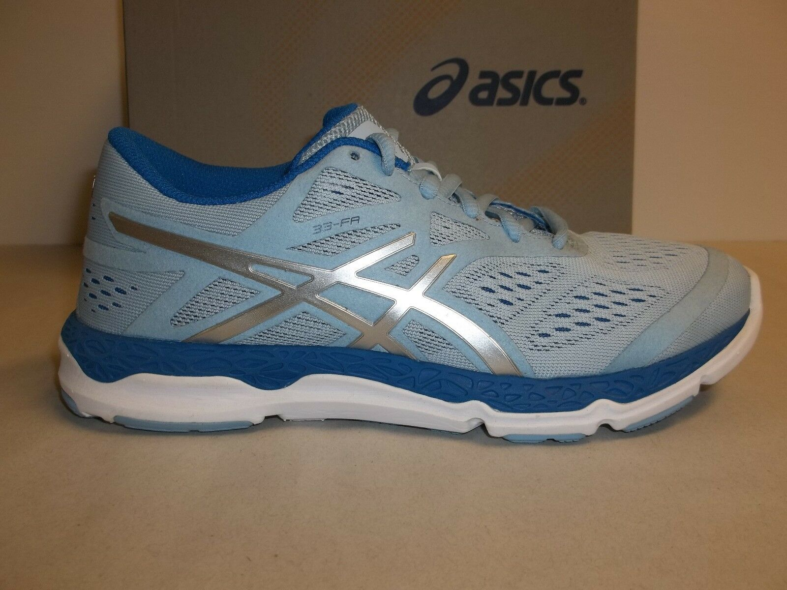 Asics Size 6 Style 33-FA Powder Blue Training Running Sneakers New Womens Shoes