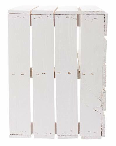 9er-Set neue weiße Apfelkisten mit Zwischenboden// Holzkiste// Obstkiste//Weinkiste