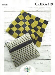 VAT Free Hand Knitting PATTERN ONLY Aran Blanket and ...