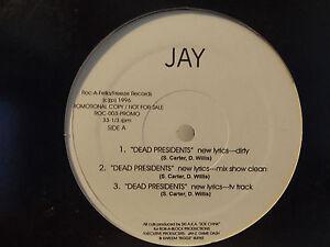 JAY-Z-DEAD-PRESIDENTS-AIN-039-T-NO-N-GGA-12-034-1996-RARE-FOXY-BROWN-SKI
