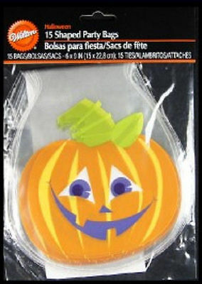Halloween Shaped Party Bags W/ties 15ct From Wilton Home & Garden Other Baking Accessories New
