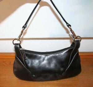 c5c689bf7a9eaa Das Bild wird geladen Otto-Kern-Tasche-Handtasche-Schultertasche-Leder- schwarz-100-