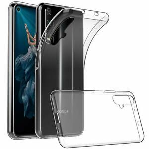 For Honor 20S Case Clear Silicone Ultra Slim Gel Cover