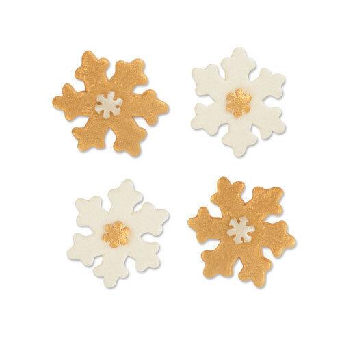 Schneeflocke Flach Zucker Tortendeko Kuchen Weihnachten Cake Pop Muffin Deko