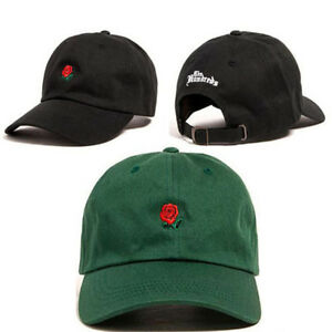 f95a2d03e56 The Hundreds Rose Dad Hat Flower Embroidered Curved Brim Baseball ...
