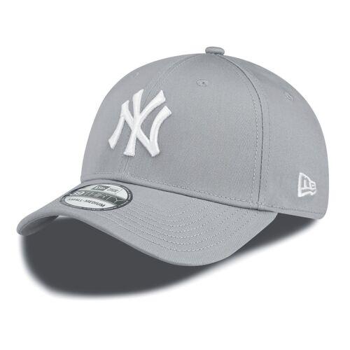 New Era League Basic 39Thirty New York Yankees Cap Grey White