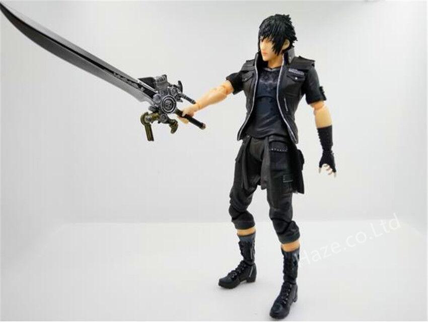 Square Enix Final Fantasy XV Play Arts Kai Noctis Lucis Action Figure Gift