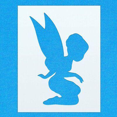 Fairy Mystical Magic Shape Mylar Airbrush Painting Wall Art Stencil one A1 Size Stencil - XLarge
