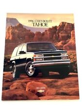1998 Chevrolet Tahoe 36-page Original Car Sales Brochure Catalog