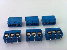 20pcs 3 Pin Screw Terminal Block Connector 5mm Pitch B